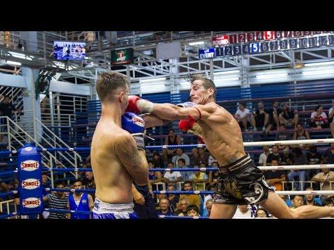 David Helfant Sumalee VS Scott Chokchai Muay Thai: Bangla Boxing Stadium, 5th February 2016