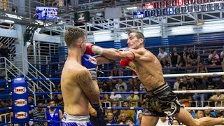David Helfant Sumalee VS Scott Chokchai Muay Thai: Bangla Boxing Stadium, 5th February 2016