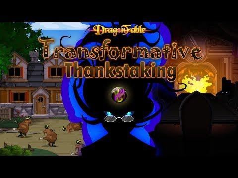 Dragon Fable Transformative Thankstaking