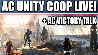 assassin s creed unity live multiplayer coop gameplay ac victory talk ps4 xbox one pc