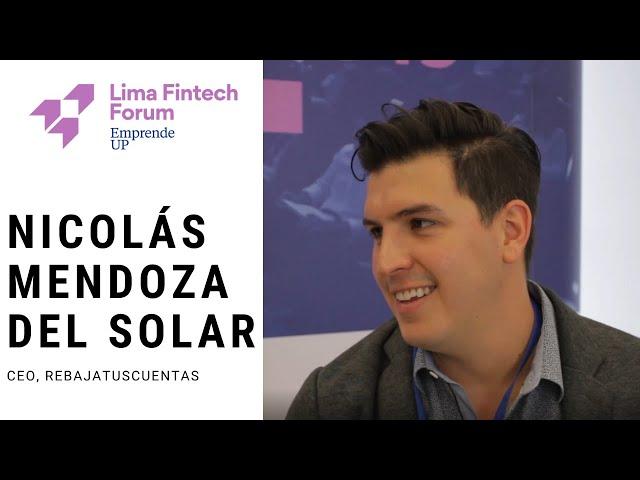 Lima Fintech Forum 2019 - Nicolas Mendoza