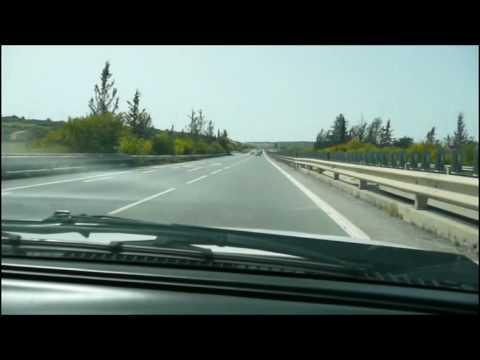 Nicosia to Limassol in 3 min