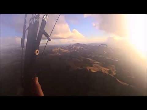 "Paraglide - Te Mata Peak  ""The Elevator"" (Gleitschirm)"