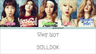 BULLDOK(불독) - Why Not/How's This?(어때요) Color Coded Lyrics [Han/Rom/Eng]