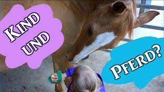 Schwanger?? - Kind und Pferd unter einen Hut bekommen
