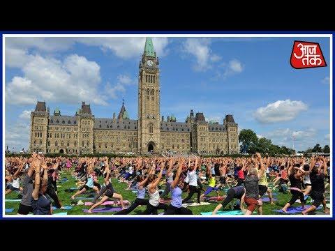 International Yoga Day Celebrated Across The Globe