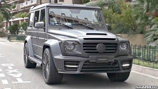 LOUD Mercedes G Wagon AMGs Making Some Noise in Monaco!!