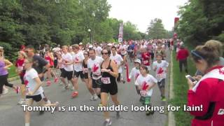 Tommy runs 10k Bushtukah Canada Day race and 5k with Cousin Iain
