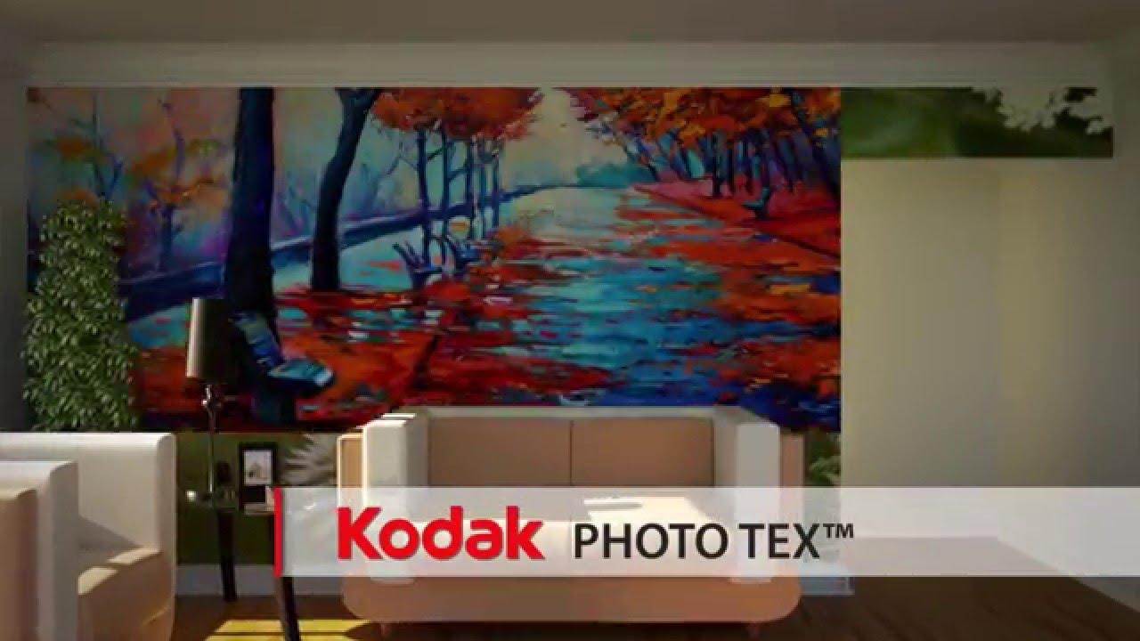 Kodak phototex adhesive backed fabric for wall murals more youtube kodak phototex adhesive backed fabric for wall murals more amipublicfo Image collections