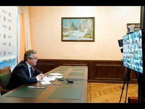 Владимир Владимиров потребовал усилить контроль на границах края