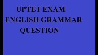 REET UPTET EXAM english grammar question