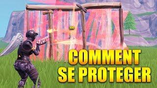 COMMENT SE PROTEGER AVEC LA CONSTRUCTION INSTANTANÉ sur FORTNITE BATTLE ROYALE !