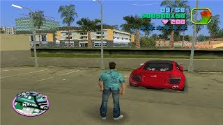 How to get an Audi R8 in GTA Vice City-| Audi R8 Mod in Gta Vice City