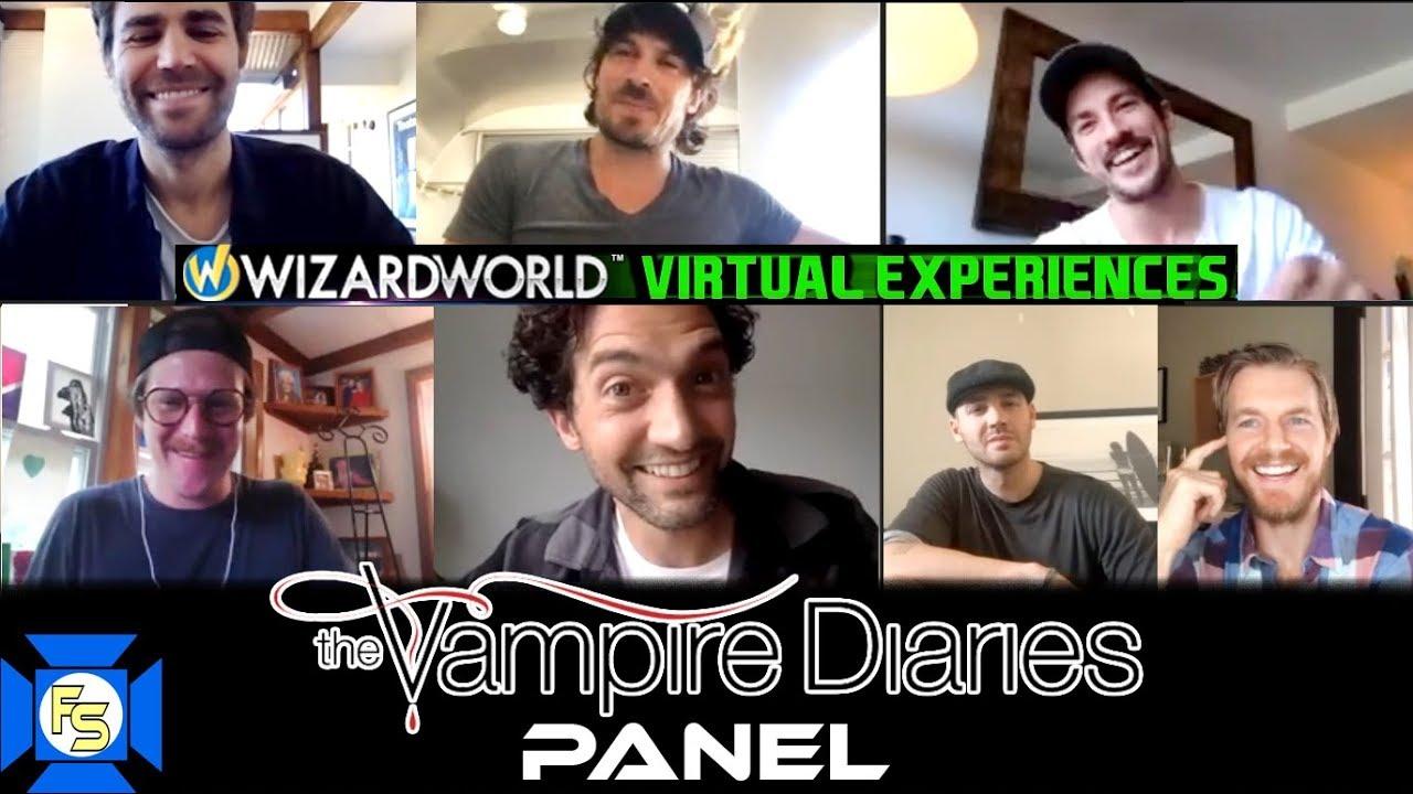 Download VAMPIRE DIARIES Panel – Wizard World Virtual Experiences 2020