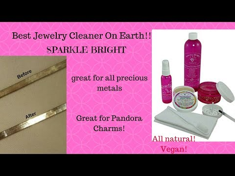 Best Jewlery Cleaner For All Your Jewelry.. SPARKLE BRIGHT! GIVEAWAY!