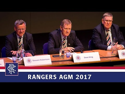 RANGERS AGM 2017 | Dave King Interview