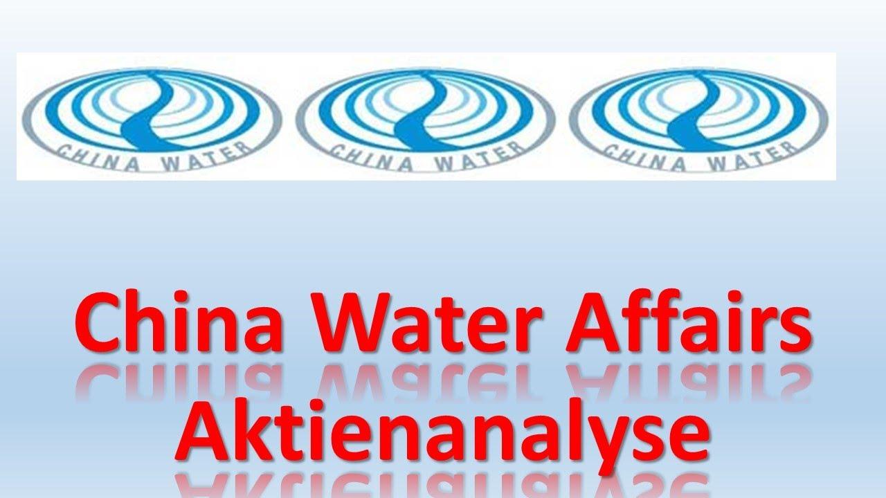 China Water Affairs Aktie