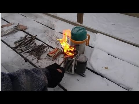 Biolite Camp Stove Hands on Review