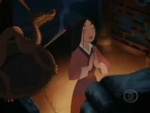 Sessão da Tarde na TV Globo : Mulan - o filme