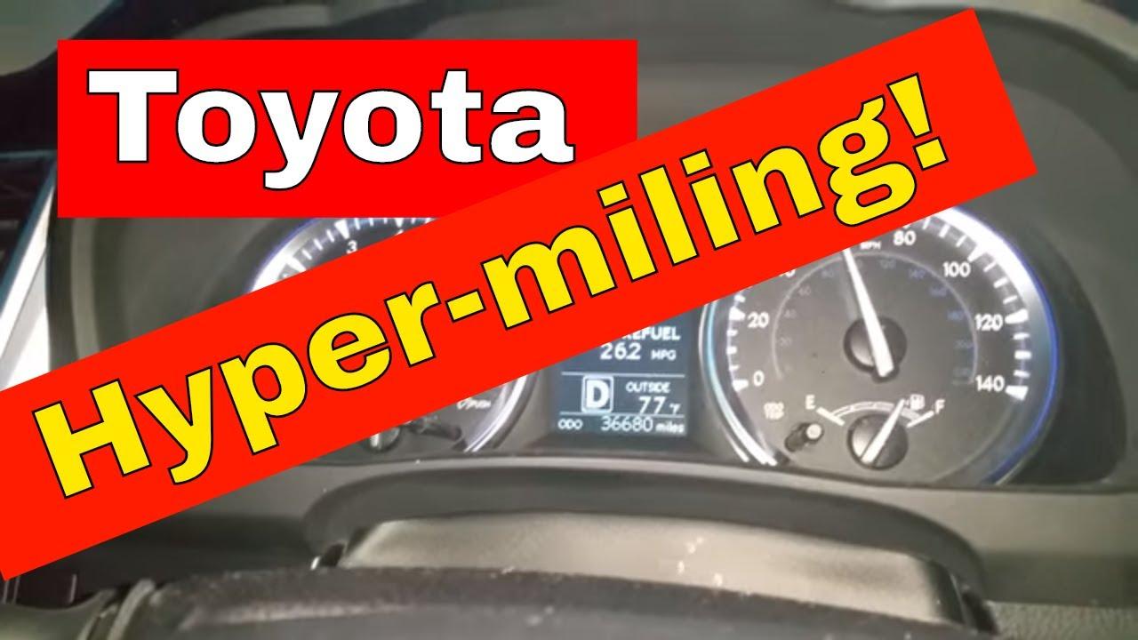 2017 Toyota Highlander Hypermile Highway Mpg Gas Mileage Test Drive