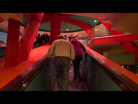 People Mover (Nighttime) - HD POV : Magic Kingdom, Orlando Florida