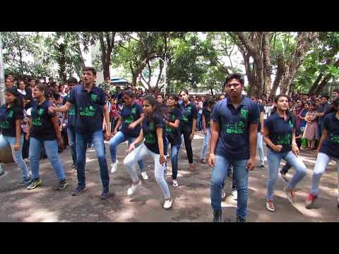 Flashmob at PVG's COET , Pune for Techcraft'17.