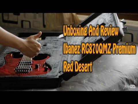Unboxing Review Ibanez Premium RG870QMZ RDT Original Bahana 4K