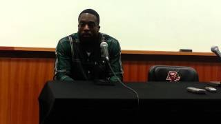 BC RB Andre Williams on game vs. Virginia Tech (11-2-13)
