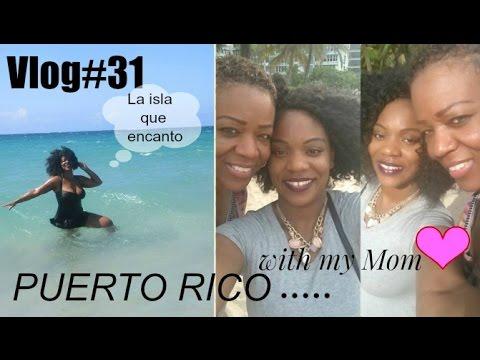 PUERTO RICO vlog   MY MOMMY and ME ❤   follow us around   la playa condado