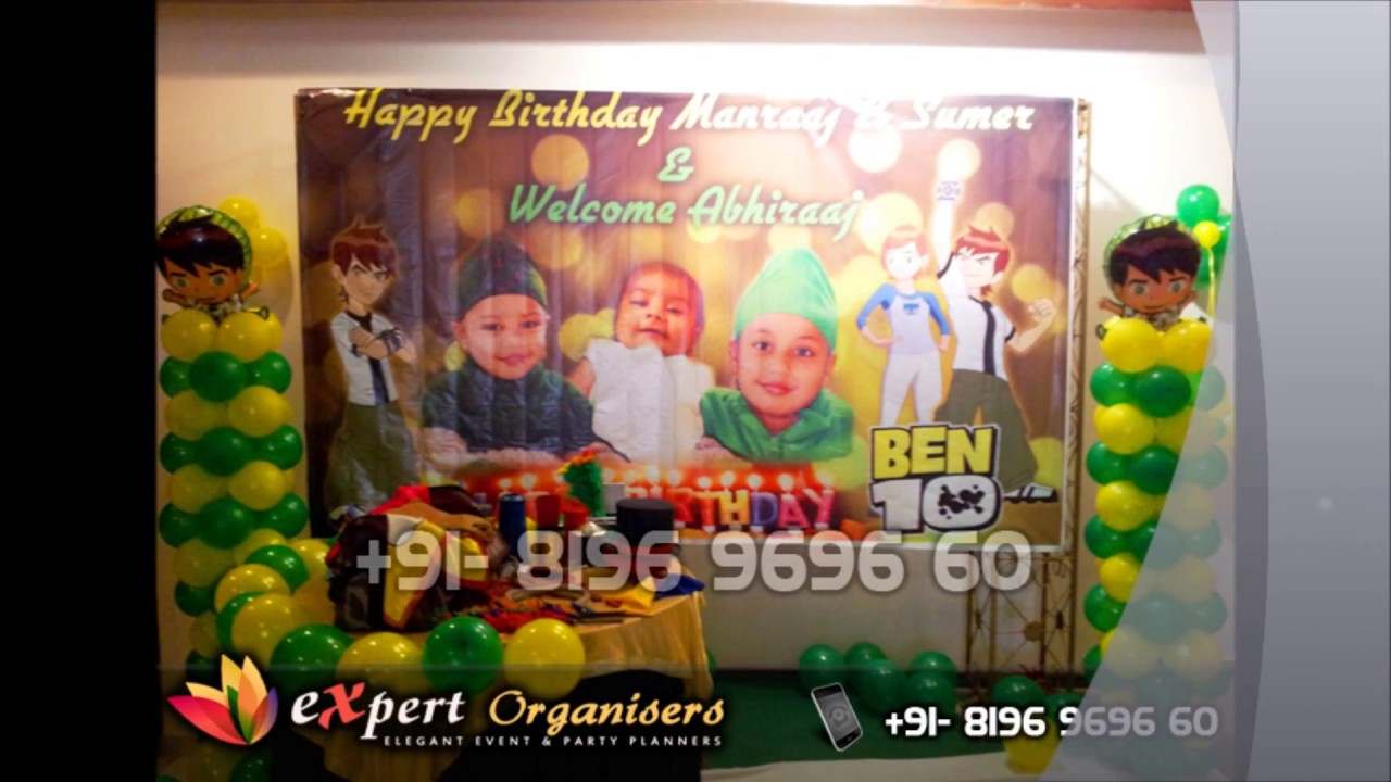 Expert Theme Birthday Party Planners Decorators in Chandigarh