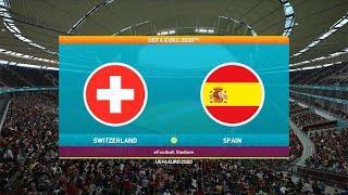 สวิตเซอร์แลนด์ vs สเปน | UEFA EURO 2020 02/07/2564