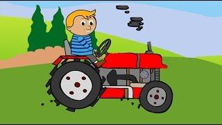 Traktorek | animacja dla dzieci _ Tractor Traktory |Bajki dla dzieci.