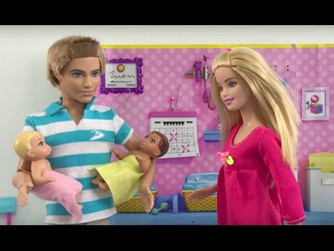 Baby Doctor! Elsa Anna & Barbie Full Episodes! Vacation Swimming Eating Playing Doll House Fun!