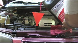 Toyota Camry (5S-FE and 1MZ-FE) - complete Coolant flush