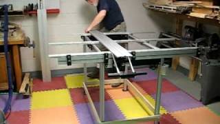 EZ-One: As Smart Table for 8ft Rips
