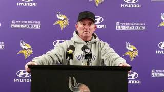 Mike Zimmer recaps win against Eagles