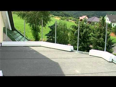balkon balkongel nder gel nder terrasse balustrade youtube