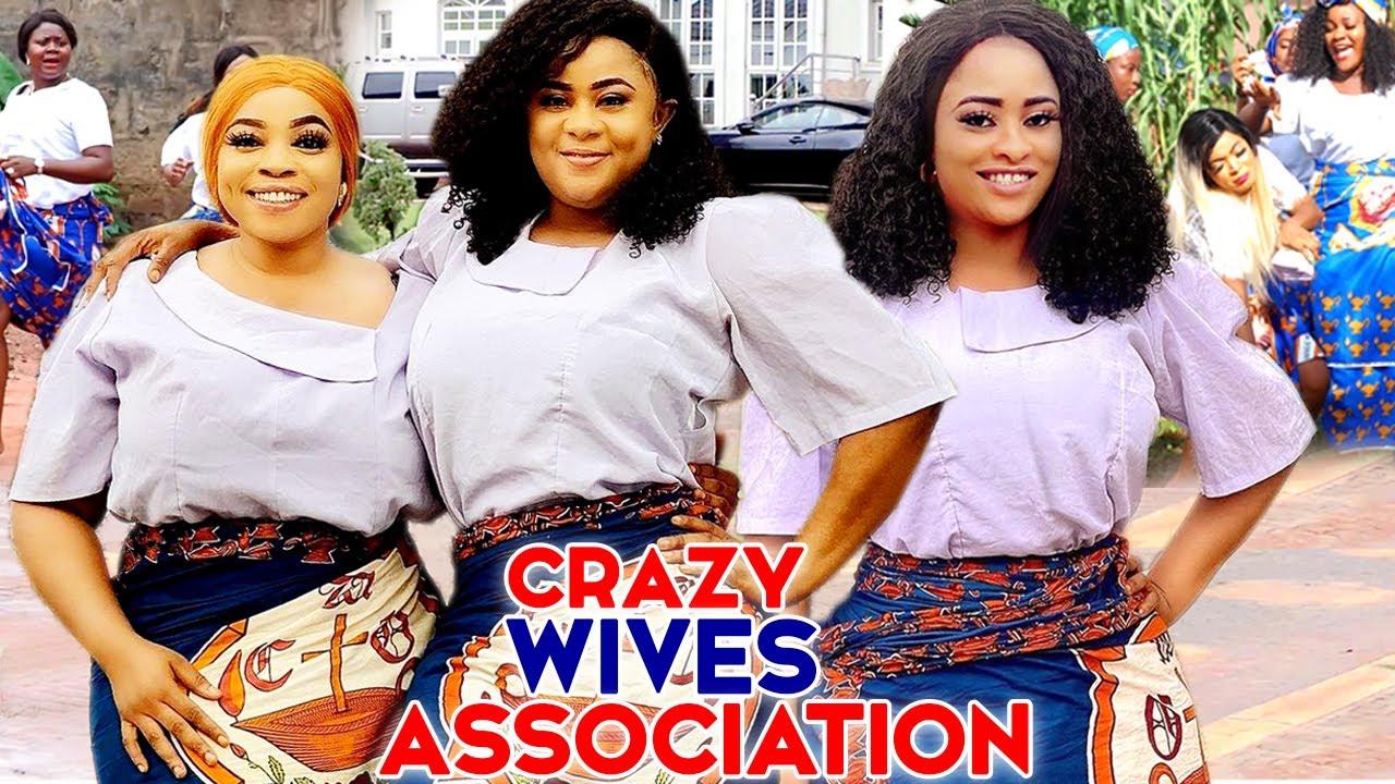 "Download CRAZY WIVES ASSOCIATION 3&4-""NEW MOVIE"" UJU OKOLI/FLASH BOY/GEORGINA IBEH 2021 LATEST NIGERIAN MOVIE"