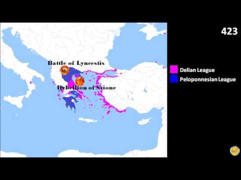 Peloponnesian War (431-404)