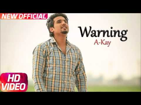Warning full video song by ak