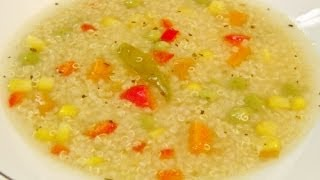 Quinoa Soup - Healthy Soup Recipe