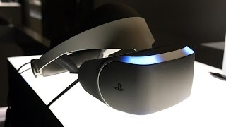 playstation vr reactions ign live e3 2015
