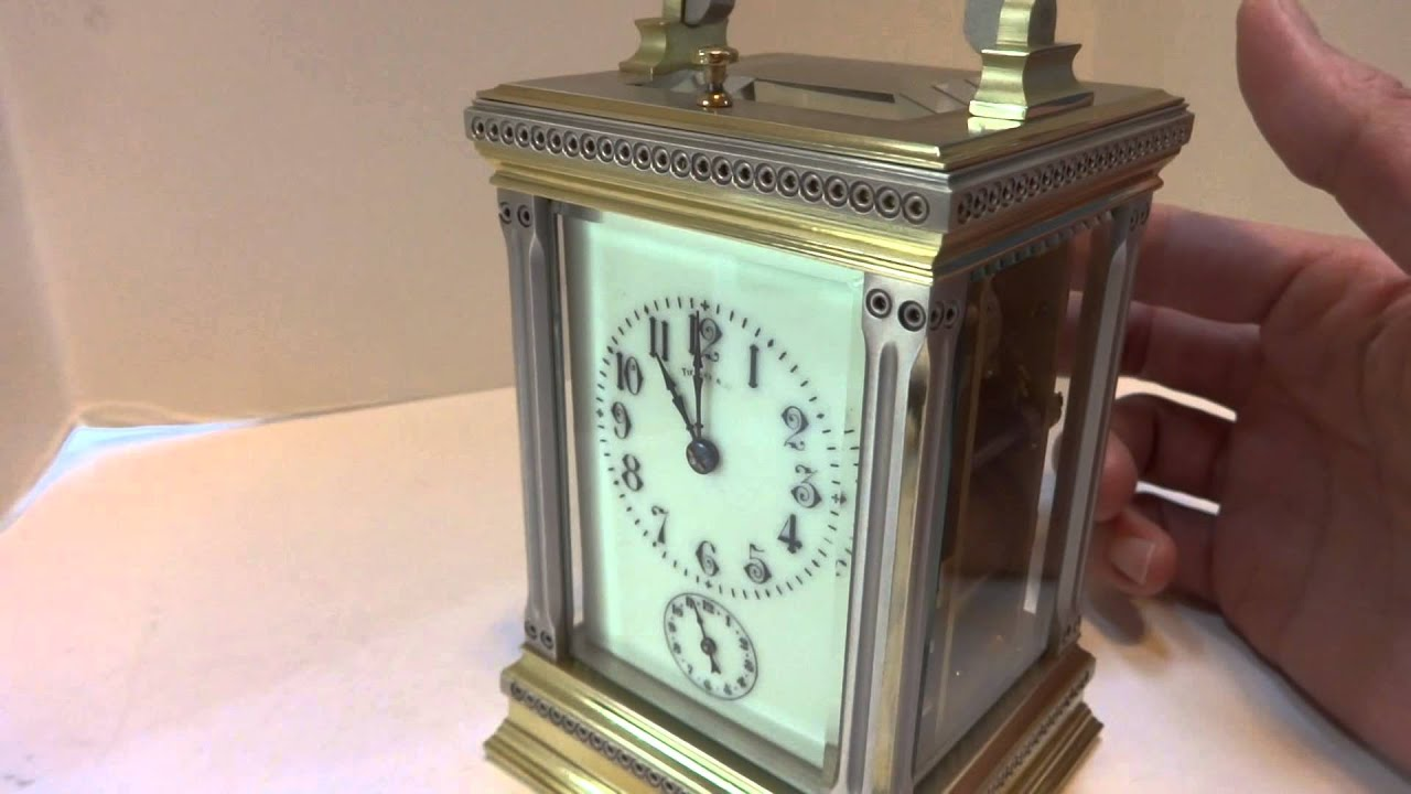 Repeating Carriage Clock With Alarm