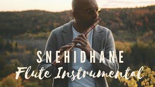 Snehidhane - Chupke Se | Flute Instrumental | Flute Siva | AR Rahman | Sadana Sargam