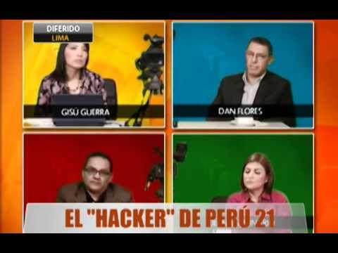 """El """"Hacker"""" de Perú 21"""