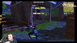 Fornite Sur MOBILE !!! On test en direct