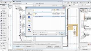 ArchiCAD 16 - Open BIM - 09 - IFC: Individuelle IFC-Schemata zwischen Projekten austauschen