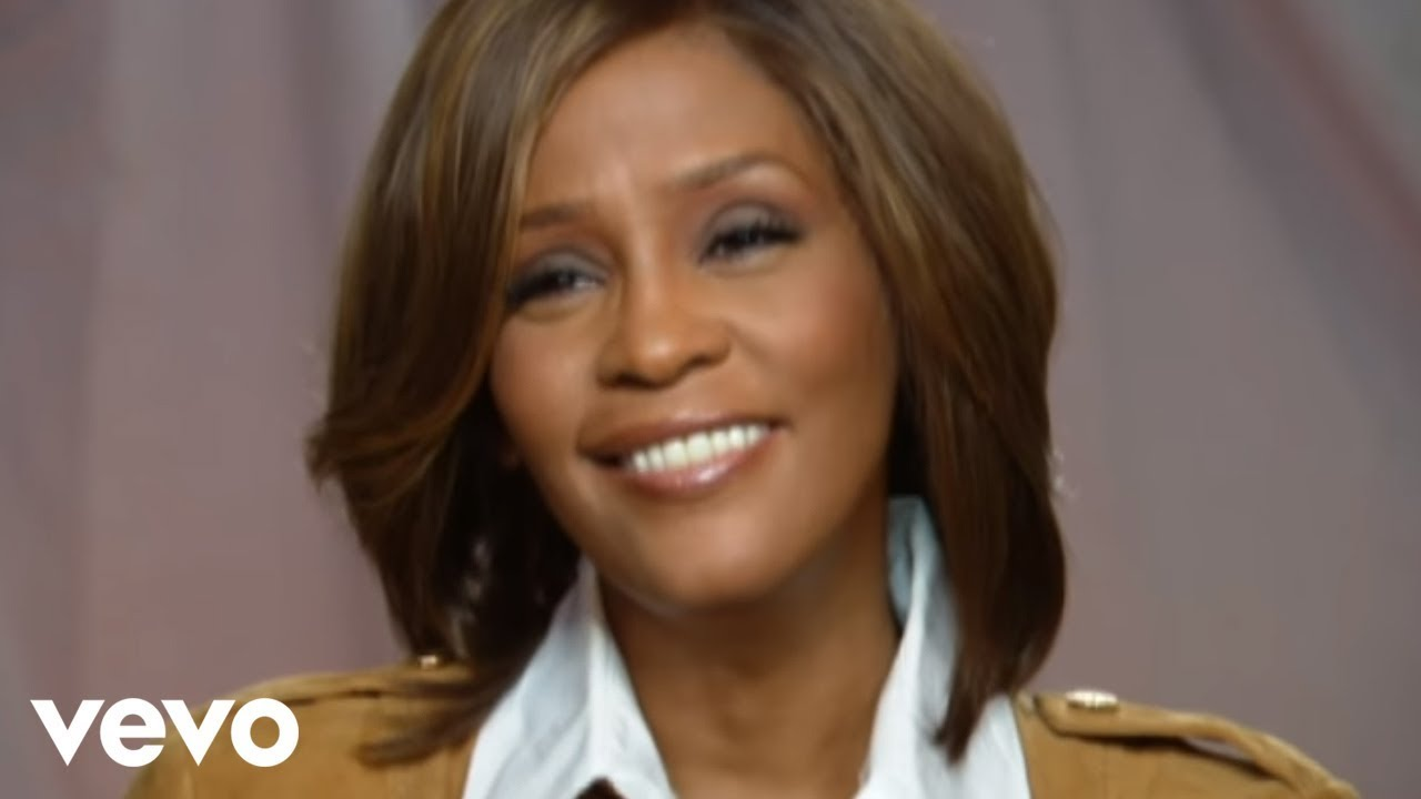 Whitney Houston Hairstyles Whitney Houston The Making Of I Look To You Youtube