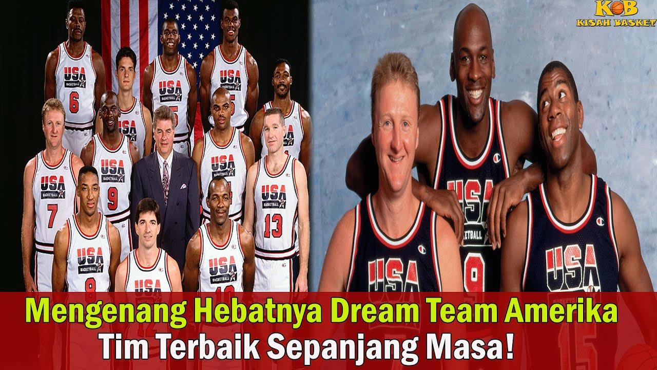 Kisah Basket Episode 53: Mengenang Kehebatan Dream Team Amerika, Tim Terbaik Sepanjang Masa!