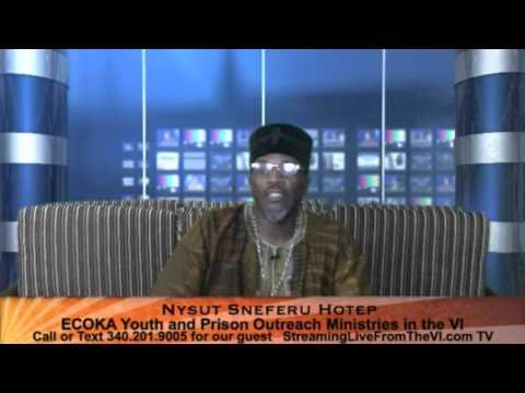 Nysut Sneferu Hotep | ECOKA Youth & Prison Outreach Ministries | 4.27.16